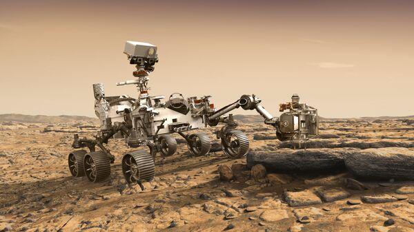 Компьютерная модель марсохода Марс-2020