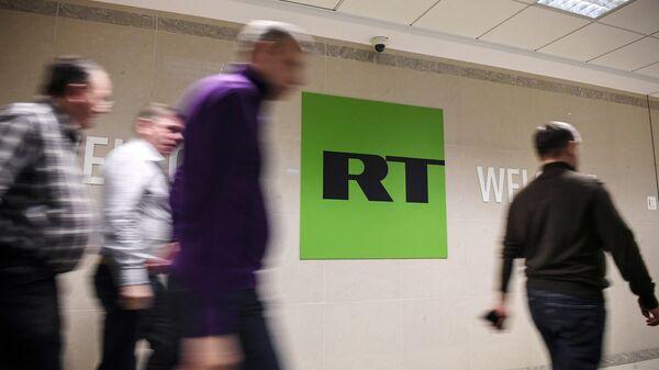Сотрудники в офисе телеканала RT. Архивное фото