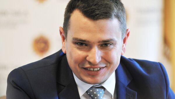 Глава Национального антикоррупционного бюро Украины Артем Сытник. архивное фото