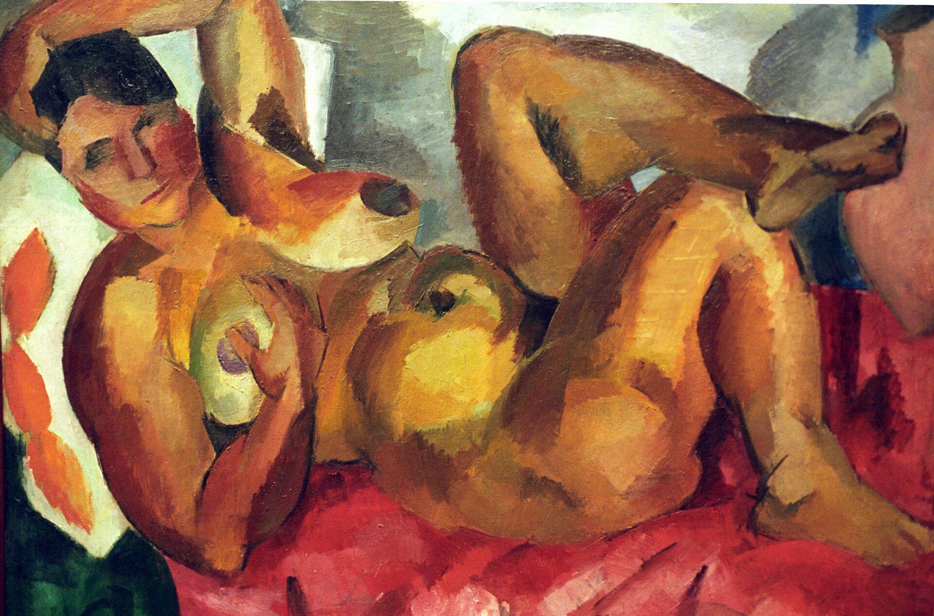 Картина Роберта Фалька Обнаженная. Крым, 1916 год  - РИА Новости, 1920, 14.05.2021
