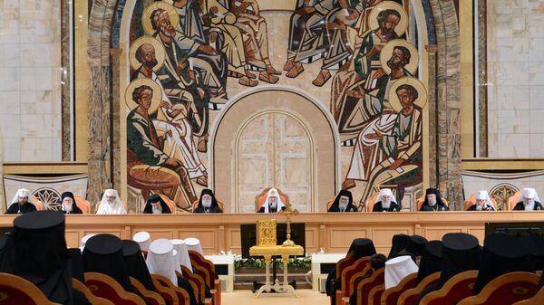 Заседание Архиерейского собора Русской православной церкви в 2017 году