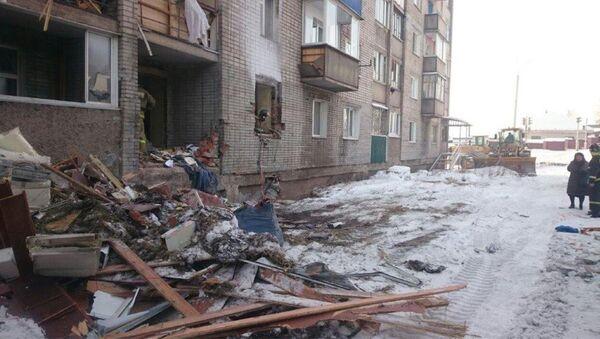 Хлопок бытового газа в Усть-Кут Иркутской области