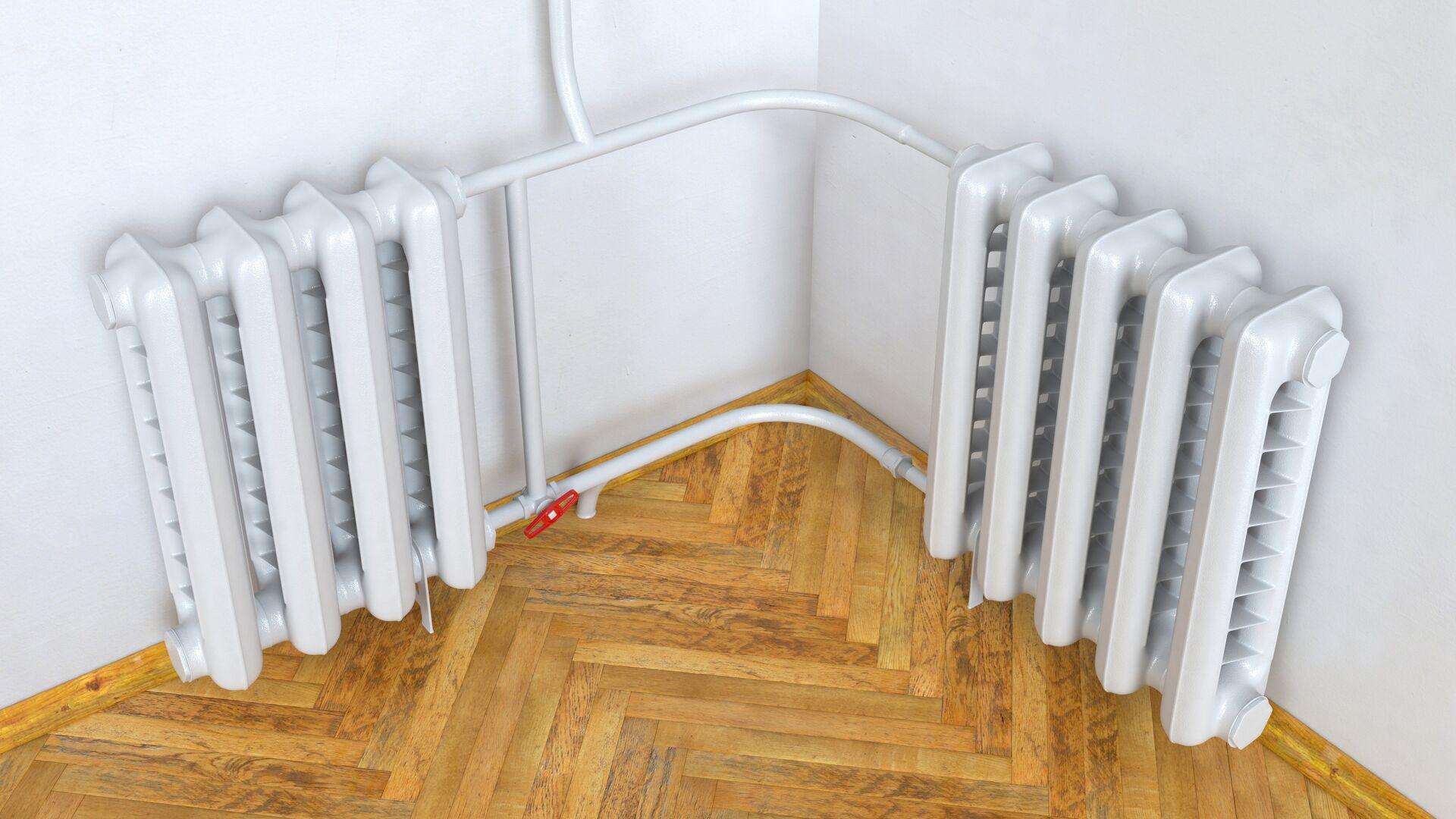 Радиатор отопления в квартире - РИА Новости, 1920, 09.10.2020