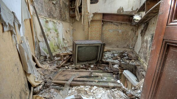 Разрушенная квартира