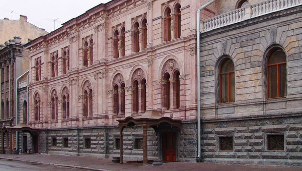 Здание Европейского университета в Санкт-Петербурге