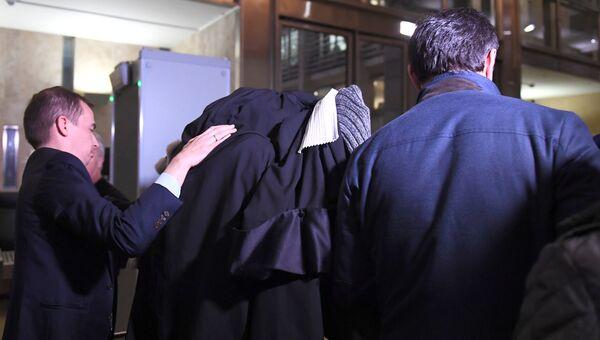 Сулейман Керимов в суде Экс-ан-Прованса, Франция. 5 декабря 2017