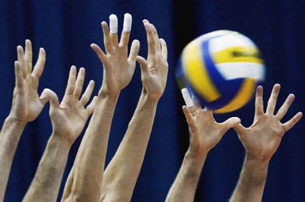 Динамо и Искра с побед начали игры плей-офф волейбольной суперлиги