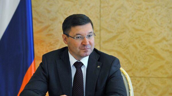 Губернатор Тюменской области Владимир Якушев. Архивное Фото.