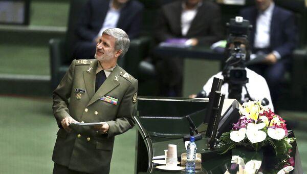Министр обороны Ирана Амир Хатеми. Архивное фото