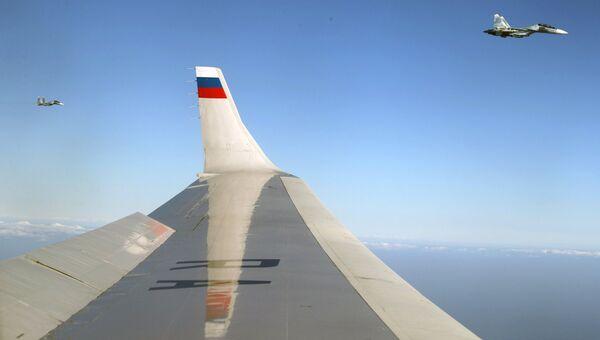 Самолеты Су-30 ВКС РФ. Архивное фото