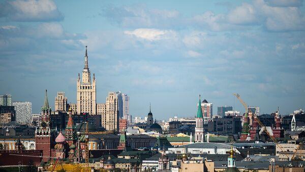 Москва, вид. Архивное фото