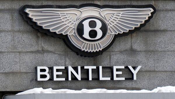 Вывеска Bentley. Архивное фото