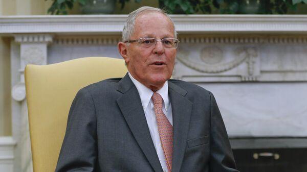 Президент Перу Педро Кучински
