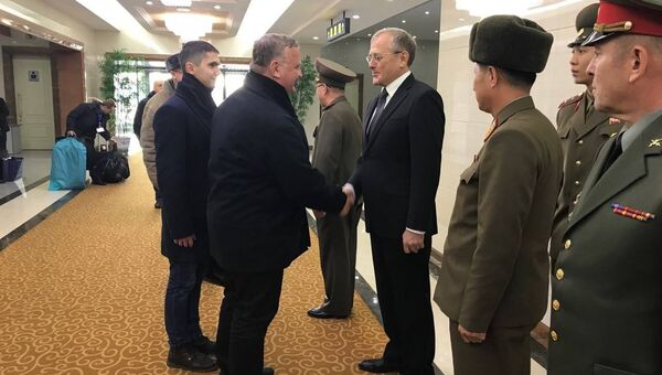 Делегация Министерства обороны РФ в Пхеньяне. 14 декабря 2017