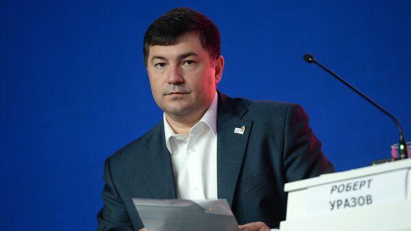 Генеральный директор союза Агентство развития профессиональных сообществ и рабочих кадров Ворлдскиллс Россия Роберт Уразов. 2016 год