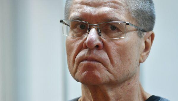 Алексей Улюкаев во время оглашения приговора в Замоскворецком суде. Архивное фото