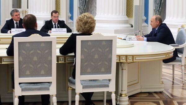 Президент РФ Владимир Путин провел заседание Совета по стратегическому развитию и приоритетным проектам. 20 декабря 2017