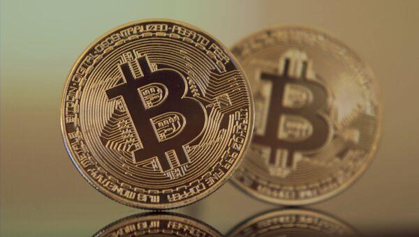 Криптовалюта биткоин. Архивное фото