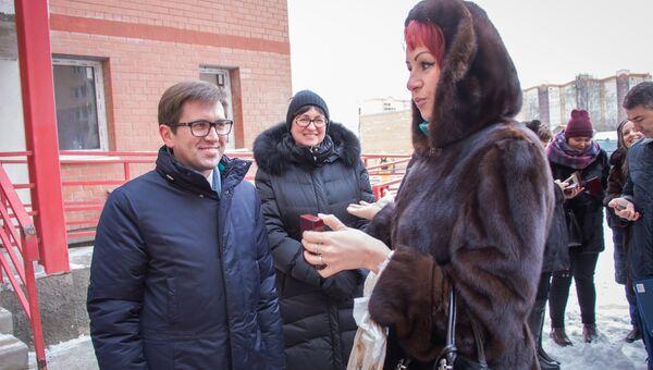 Заместитель Председателя Правительства Московской области Максим Фомин