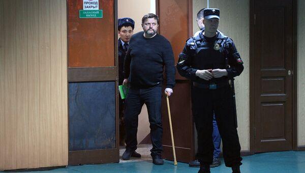 Никита Белых в Пресненском суде Москвы. 27 декабря 2017