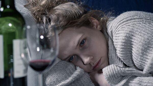 Девушка и вино