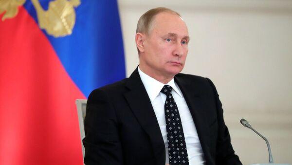 Президент РФ Владимир Путин проводит заседание Госсовета по вопросам повышения инвестиционной привлекательности регионов. 27 декабря 2017