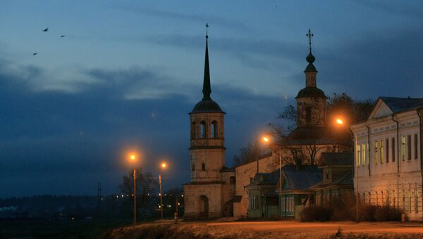 Ильинская церковь в Великом Устюге