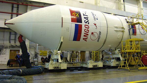 Космический аппарат Ангосат. Архивное фото