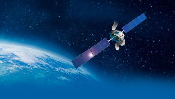 Изображение космического аппарата Ангосат. Архивное фото