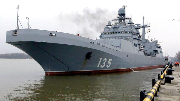Большой десантный корабль Иван Грен (проект 11711)