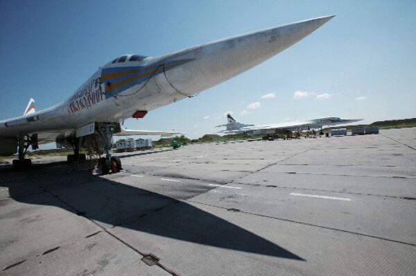 Сверхзвуковой стратегический самолёт ТУ-160