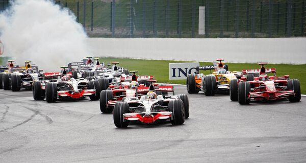 Соревнования в классе Формула-1 Гран-при Бельгии