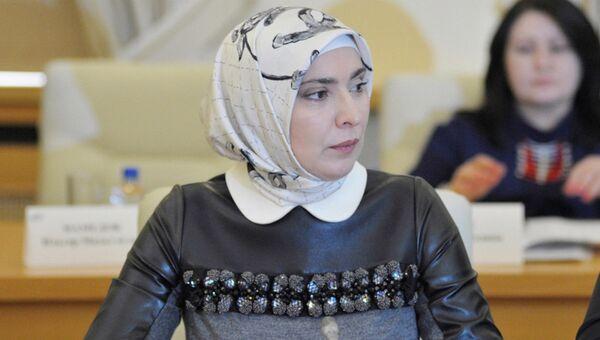 Айна Гамзатова. Архивное фото