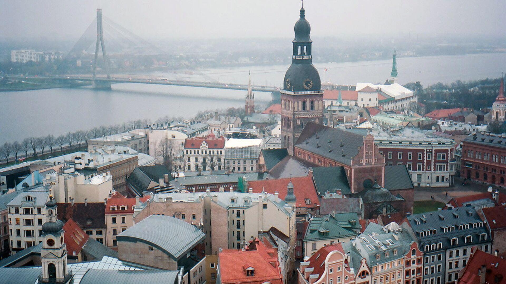 Колокольня Домского кафедрального собора в Риге в Латвии - РИА Новости, 1920, 12.03.2021