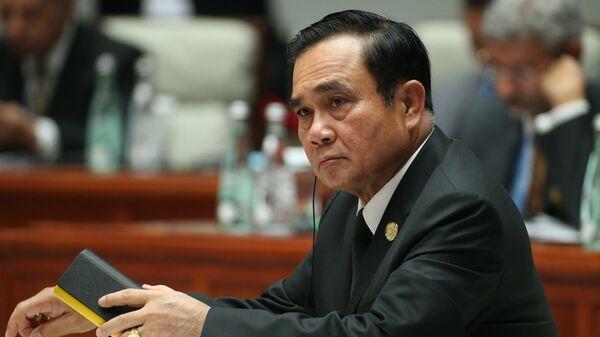 Премьер-министр Таиланда генерал Прают Чан-Оча