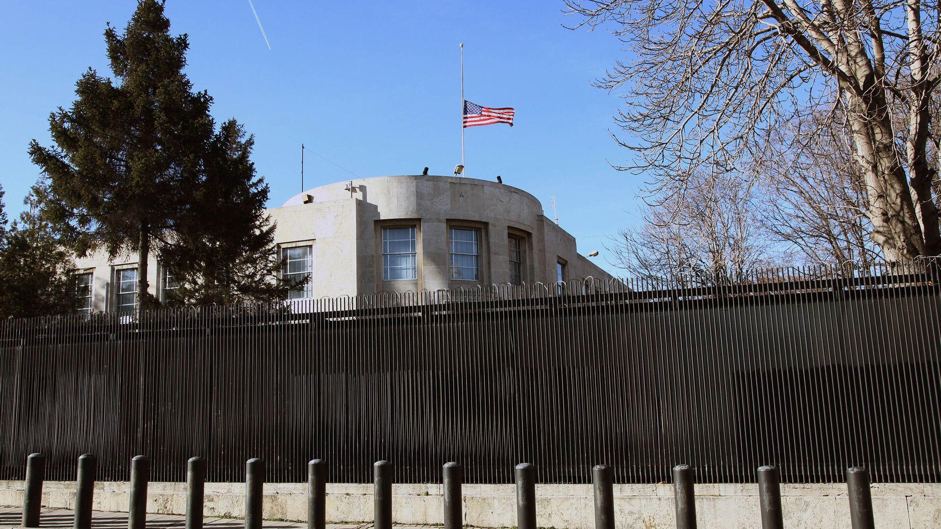 Здание американского посольства в Анкаре - РИА Новости, 1920, 15.02.2021