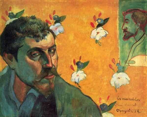 Автопортрет посвященный Винсенту Ван Гогу. 1888 г.