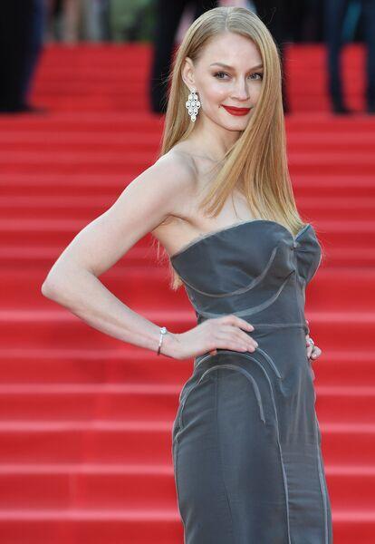 Актриса Светлана Ходченкова на церемонии открытия 39-го Московского международного кинофестиваля в Москве