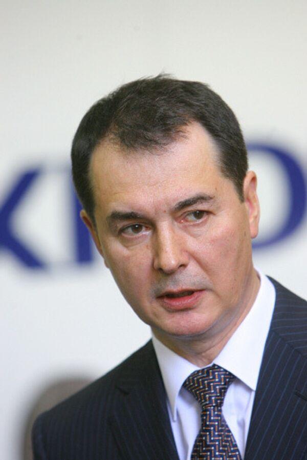 Генеральный директор ОАО Аэрофлот – Российские авиалинии Валерий Окулов. Архив