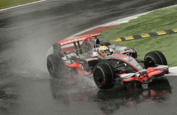 Льюис Хэмилтон на Гран-при Италии
