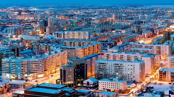 Якутск с высоты. Архивное фото