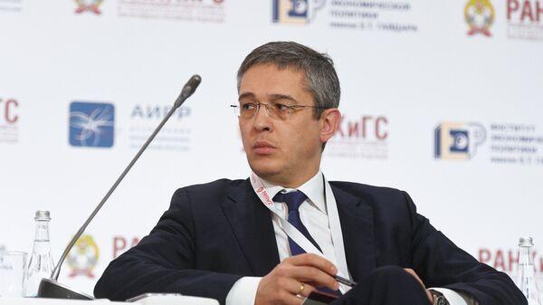 Александр Повалко на IX Гайдаровском форуме в Москве. 18 января 2018