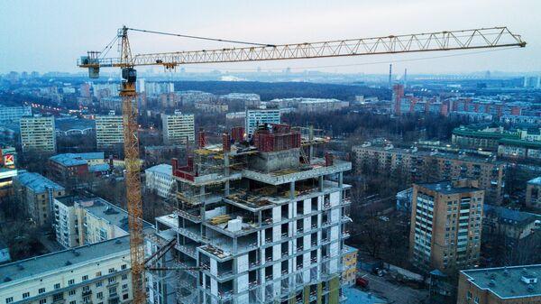 Строительство многоквартирного жилого дома в Москве