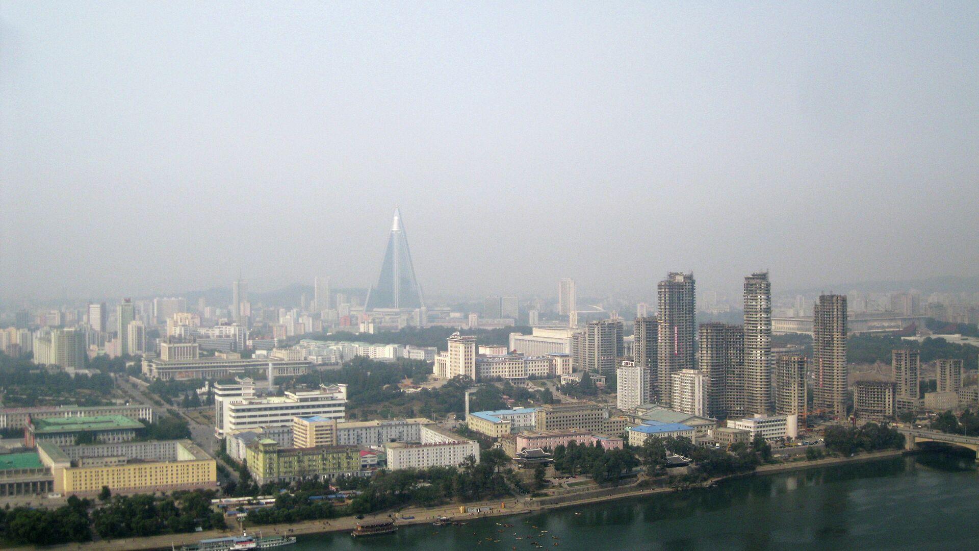Вид на центр Пхеньяна. Архивное фото - РИА Новости, 1920, 15.09.2021