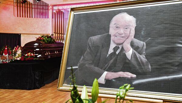Прощание с Владимиром Шаинским в Московском доме композиторов