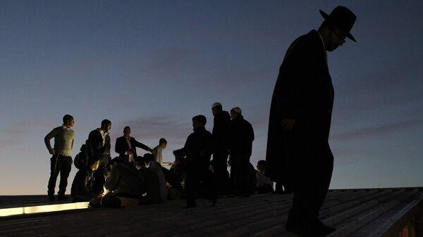 Празднование еврейского Нового года Рош ха-Шана в Умани