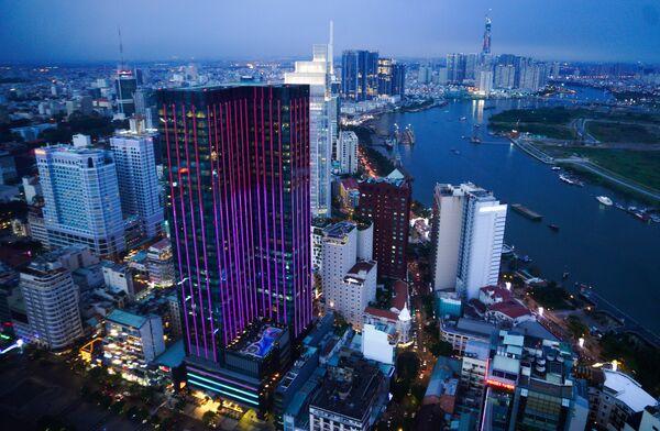 Город Хошимин во Вьетнаме