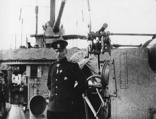 Командующий Черноморским флотом вице-адмирал Александр Колчак