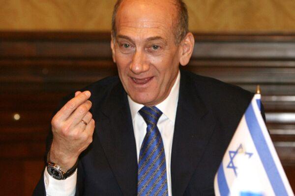 Премьер-министр Израиля Эхуд Ольмерт. Архив