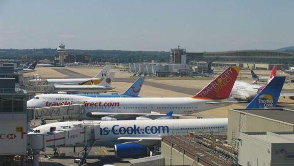 Лондонский аэропорт Gatwick. Архивное фото.